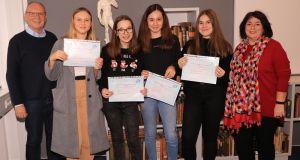 DELF-Diplome verliehen