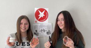 Forscherinnen beim Landeswettbewerb Jugend forscht erfolgreich